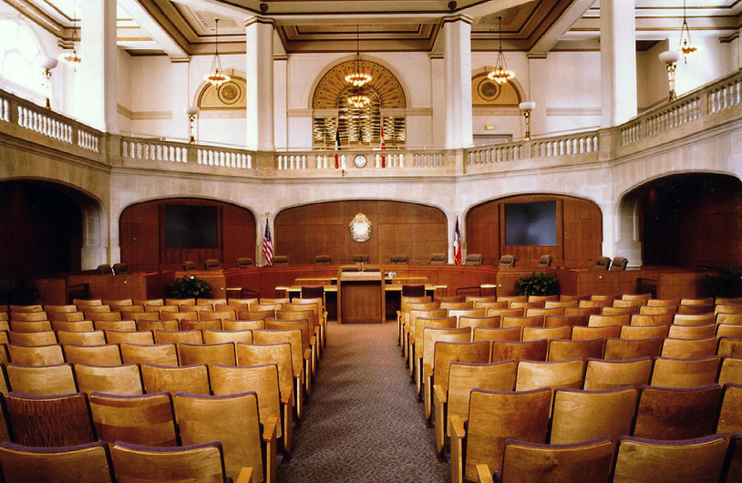 San Antonio City Council Chambers